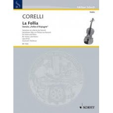 Corelli, A.: La Folia for violin and piano