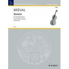Breval: Sonata C major for Viola and Piano