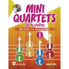 Mini Quartets for 4 violins vol.1
