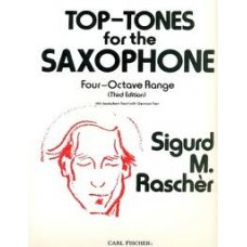 Top-Tones for the Saxophone (by Sigurd M. Rascher)