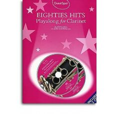 Guest Spot Eighties Hits Playalong for Clarinet