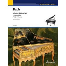BACH JS: LITTLE PRELUDES FOR PIANO