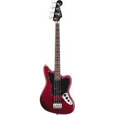 Bassokitara Squier Vintage Modified Jaguar Bass SS (Short Scale) RW Candy Apple Red