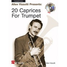 20 CAPRICES FOR TRUMPET (VIZZUTTI) BK/CD