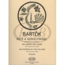 BARTOK: AN EVENING IN THE VILLAGE V&P