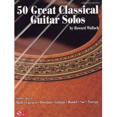 50 GREAT CLASSICAL SOLOS GUITAR TAB