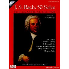 BACH: 50 SOLOS FOR CLASSICAL GUITAR