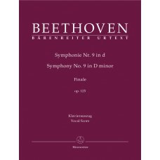 BEETHOVEN: SINFONIA NR.9 d-MOLLI  FINALE VOCAL SCORE