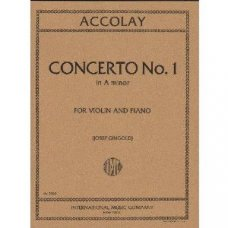 Accolay, J.: Concerto No.1 in A minor