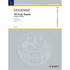 DEVIENNE: 18 EASY DUETS 2:LLE HUILULLE