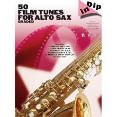 50 FILM TUNES GRADED A-SAX SOLOS BK