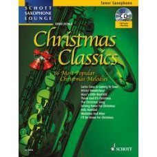CHRISTMAS CLASSICS T-SAX   BK+ONLINE MATERIAL AUDIO