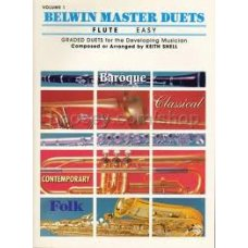 Belwin Master Duets Flute Easy 1