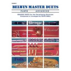 Belwin Master Duets Flute Advanced 1