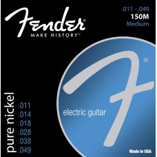 Sähkökitaran kielisarja 011-049 Fender Pure Nickel 150M Ball End