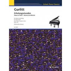 GURLITT: HOURS OF REST FOR PIANO DUETS  OP.102   P