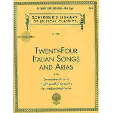 24 ITALIAN SONGS & ARIAS BK+ACCESS MED HIGH