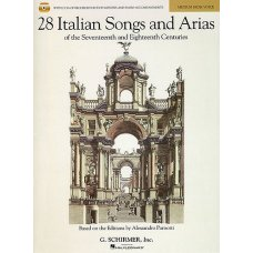 28 ITALIAN SONGS & ARIAS MED HIGH BK+CD