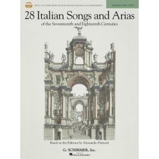 28 ITALIAN SONGS & ARIAS MED LOW BK+CD
