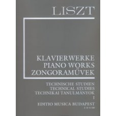 LISZT: TECHNICAL STUDIES 1         P