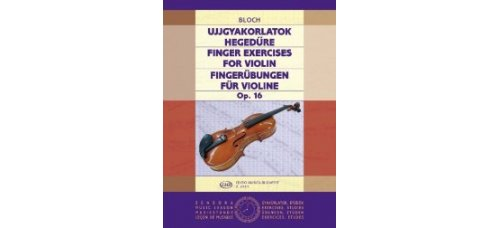BLOCH: FINGERUBUNGEN OP 16   Violin