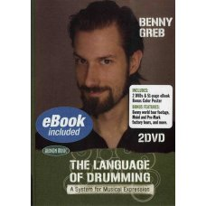 GREB BENNY: LANGUAGE DRUMMING   2 DVD