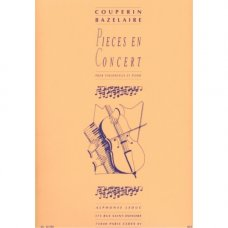 COUPERIN: PIECES EN CONCERT   VC & P