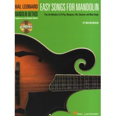 HAL LEONARD MANDOLIN METHOD EASY SONGS BK+CD