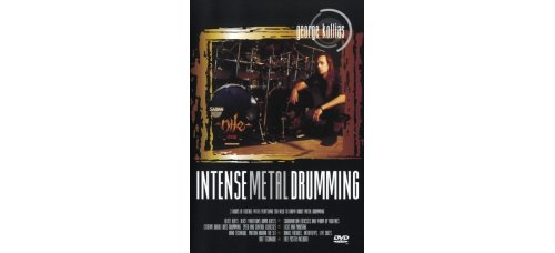 DVD GEORGE KOLLIAS INTENSE METAL DRUMMING