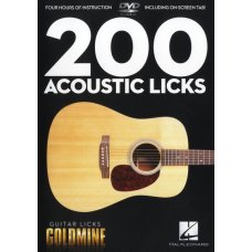 DVD ACOUSTIC LICKS - GUITAR LICKS GOLDMINE
