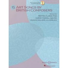 15 ART SONGS HIGH VOICE BK+CD