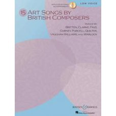 15 ART SONGS LOW VOICE BK+CD