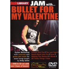 DVD JAM WITH BULLET VALENTINE GUITAR 2DVD