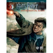 Harry Potter Instrumental Solos Complete Clarinet