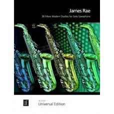 JAMES RAE 36 MORE MODERN STUDIES FOR SOLO SAXOPHONE