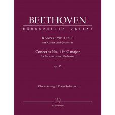 BEETHOVEN CONCERTO NO.1 IN C MAJOR OP. 15 PIANO
