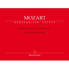 MOZART: WORKS FOR PIANO DUET