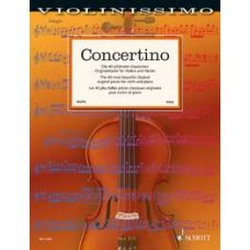 CONCERTINO 40 MOST BEAUTIFUL CLASSICAL PIECES V&P