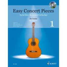EASY CONCERT PIECES FOR GUITAR BK+CD