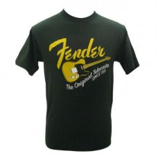 T-Paita Fender Original Tele-Shirt, Green, S