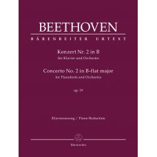 BEETHOVEN CONCERTO NO.2 IN B-FLAT MAJOR OP.19 PIANO