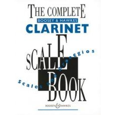 COMPLETE BOOSEY & HAWKES CLARINET SCALES BOOK