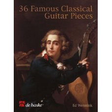 36 FAMOUS CLASSICAL GUITAR PIECES BK