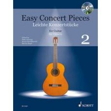 EASY CONCERT PIECES FOR GUITAR 2 BK+CD