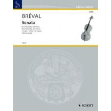 BREVAL: SONATE C MAJOR OP.40 FOR CELLO