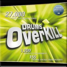 Best Service Drums Overkill - Digital Delivery