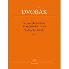 DVORAK STRING QUINTET IN G MAJOR OP.77
