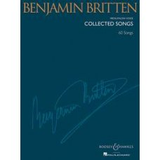BRITTEN COLLECTED SONGS 60 SONGS MEDIUM/LOW VOICE
