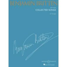 BRITTEN COLLECTED SONGS 63 SONGS HIGH VOICE