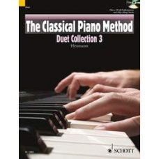 CLASSICAL PIANO METHOD DUET BOOK 3 (HEUMANN)